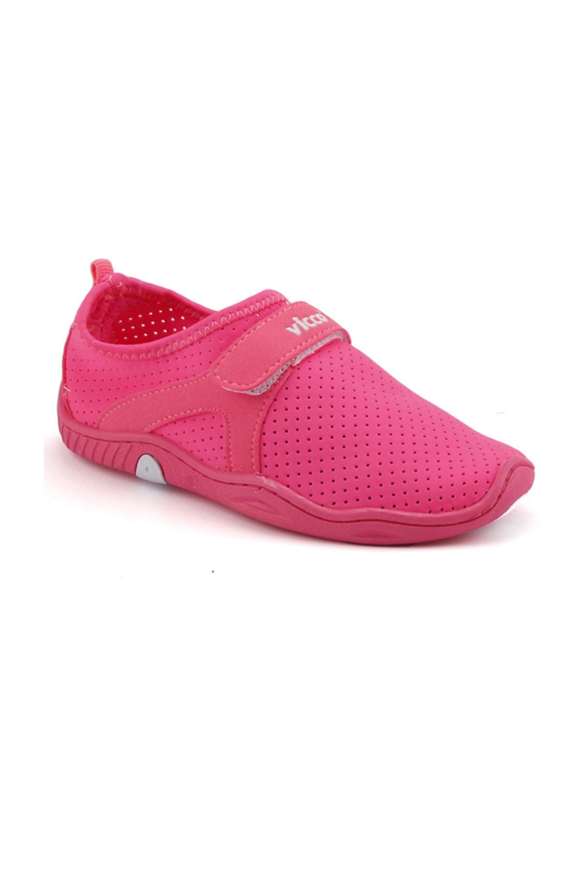 Vicco Pembe Kız Çocuk Deniz Ayakkabısı 1