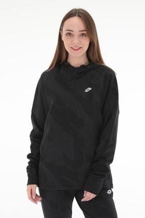 Lotto Kadın Sweatshirt -Mınner Sweat Hd Prt Ft W - R7792-R