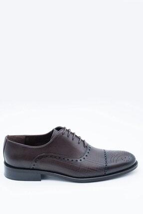İgs Erkek Kahverengi Deri Klasik Ayakkabı