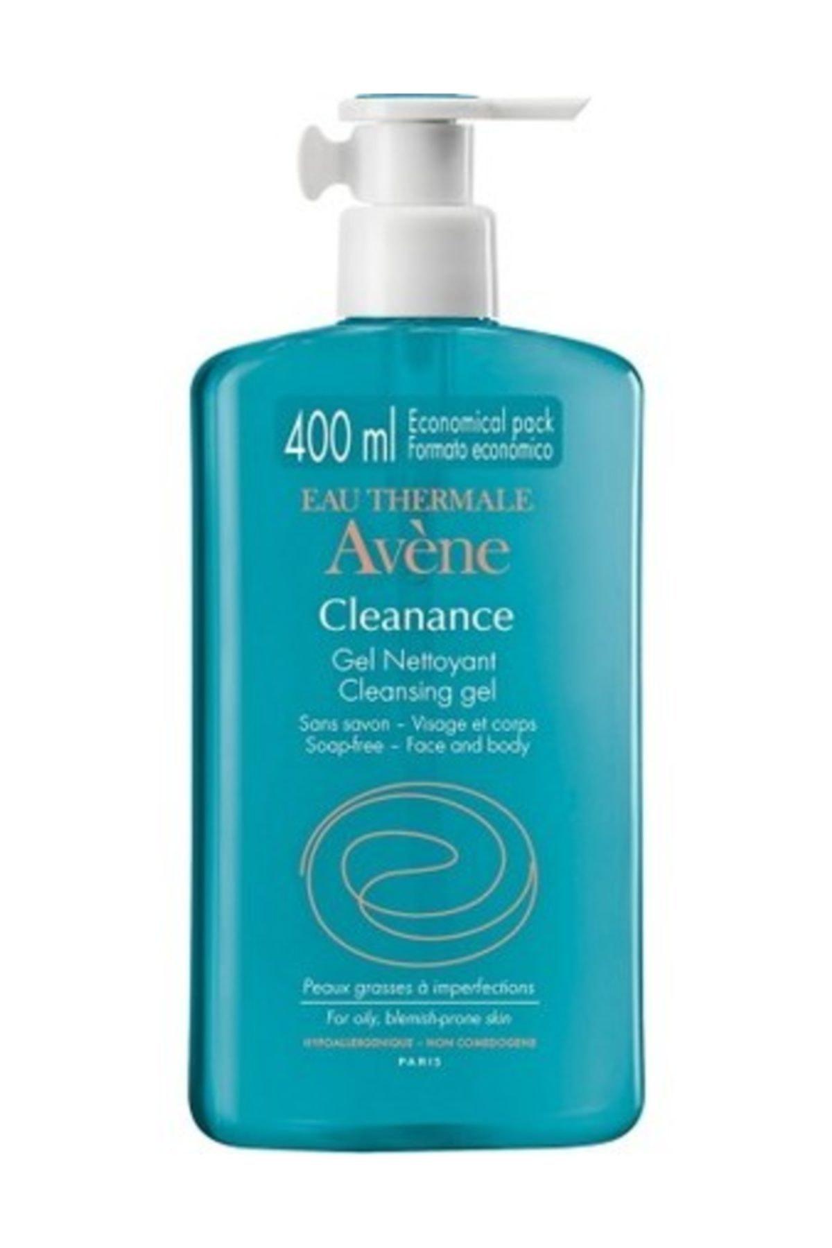 Avene Cleanance Gel Nettoyant Cleansing Gel 400 ml + Yuz Temizleme Diskleri Hediyeli 1