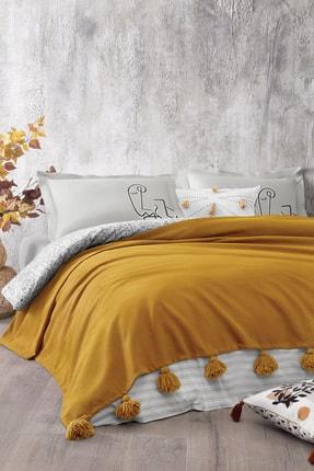 Yataş Bedding Megan Çift Kişilik Yatak Örtüsü - Safran