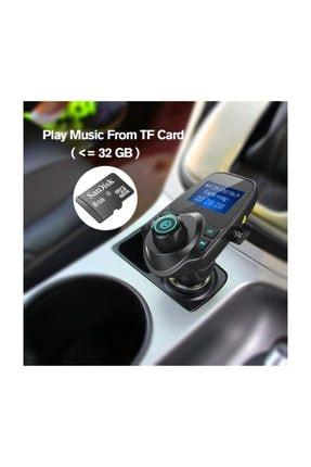 Havana T11 Bluetooth Fm Transmitter Aux Araç Kiti Mp3 Usb Girişli Araç