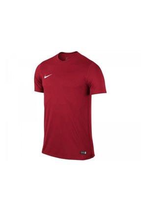 Nike Kids Unisex Çocuk Kırmızı Nike 725984-657 SS YTH PARK VI JSY T-Shirt