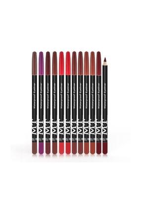 Makeuptime Waterproof Pencıl Eyeliner Set 01
