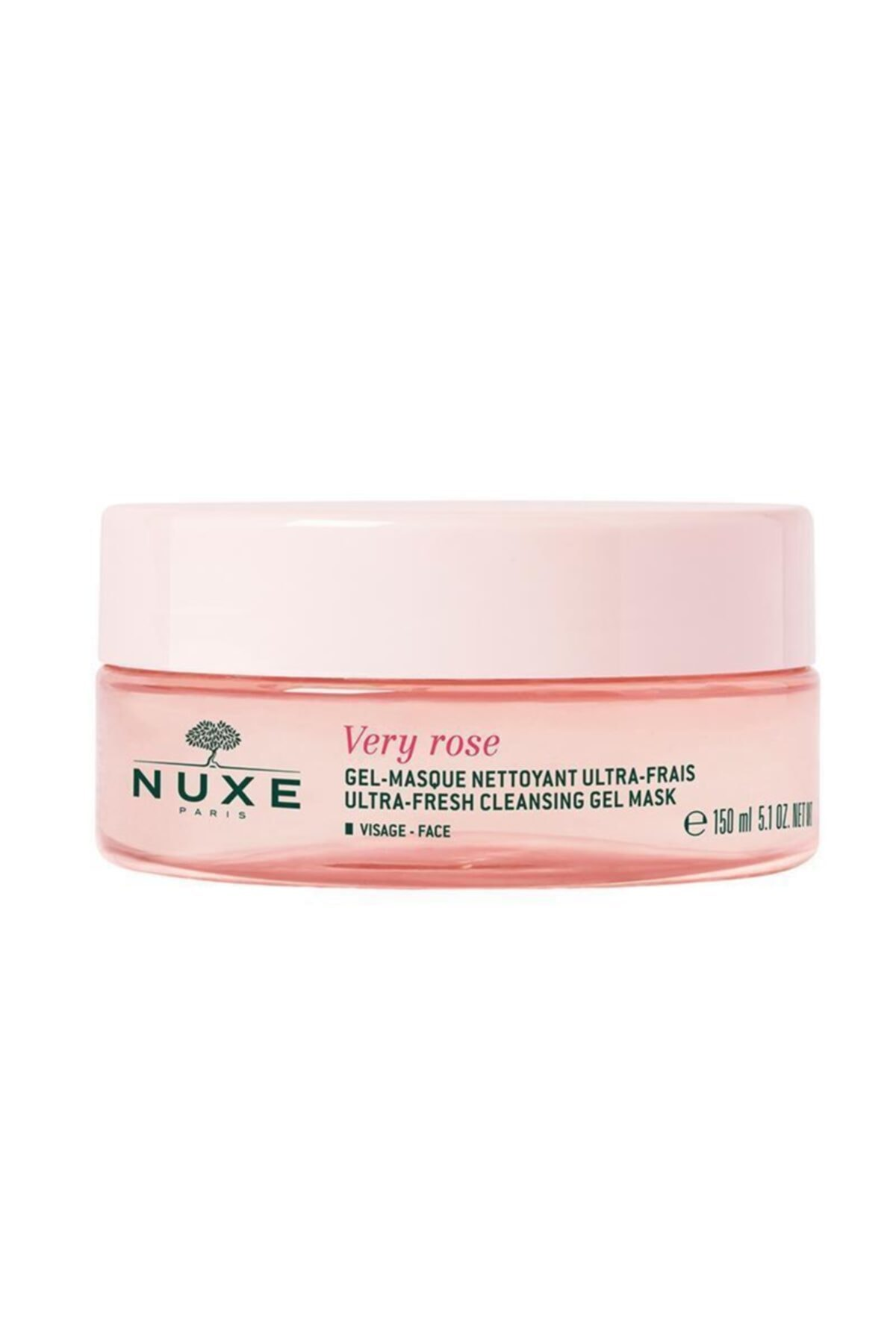 Nuxe Very Rose Ultra Fresh Cleansing Gel Maske 150 ml 1