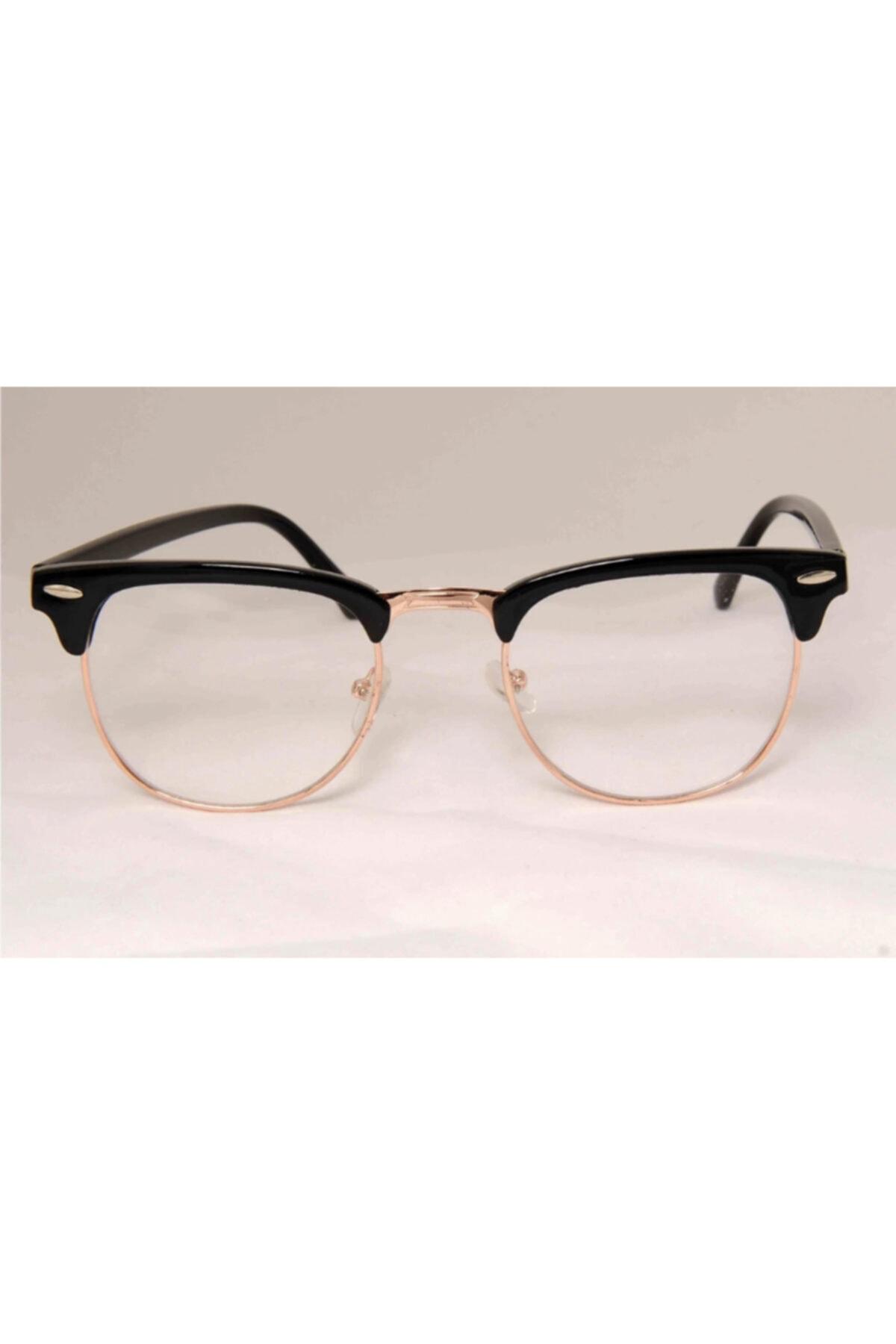 UBK Eyewear Clubmaster Numarasız Mavi Işık Korumalı Gözlük 2