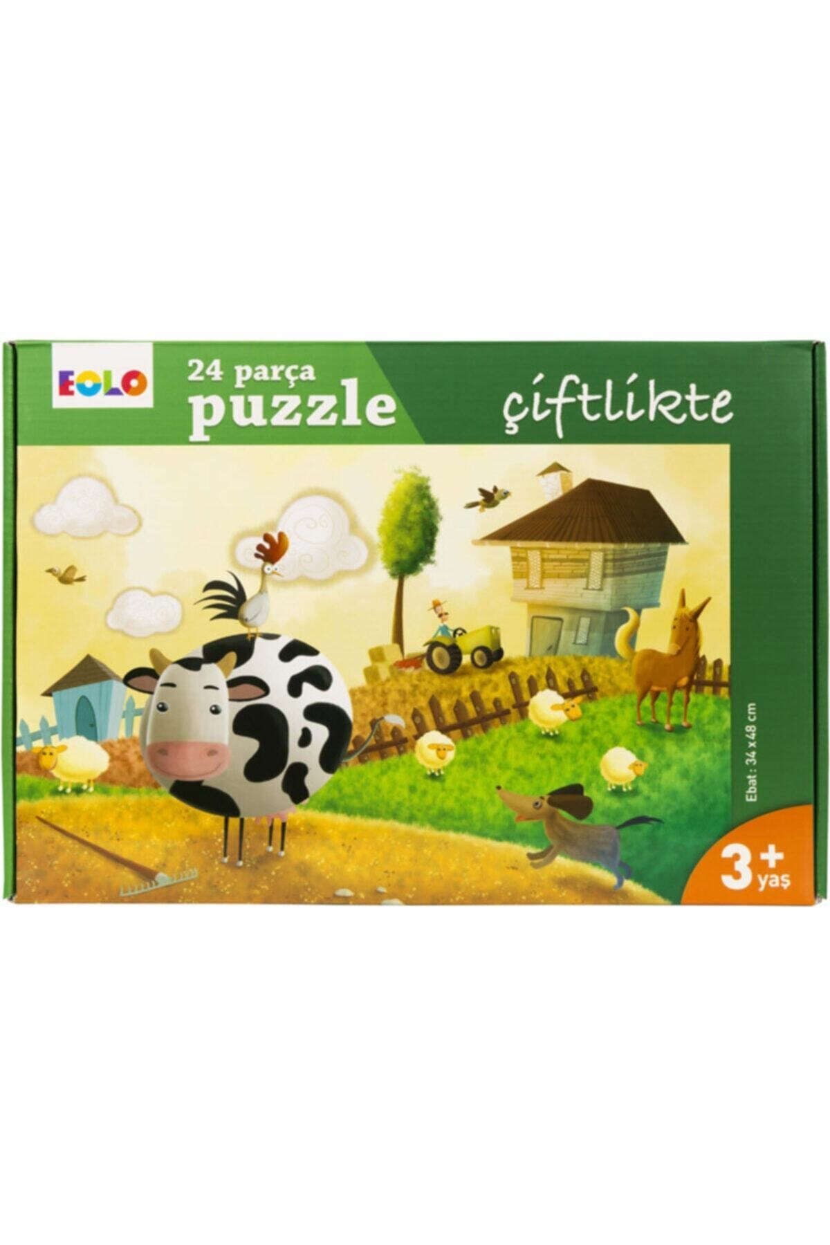 Eolo Çiftlikte 24 Parça Puzzle Çiftlikte 1