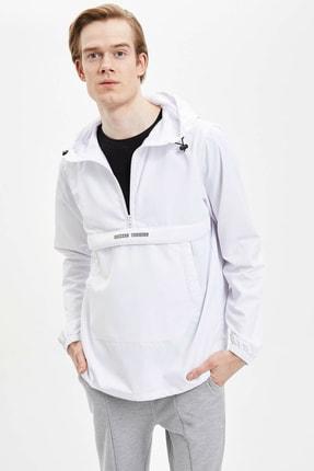 DeFacto Kapüşonlu Slim Fit Spor Sweatshirt