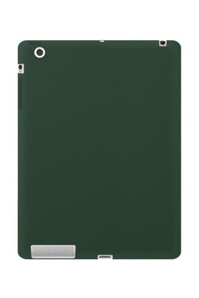 Bufalo Ipad 2/3/4 9.7 Inç Kılıf Fitcase Evo Silikon Arka Kapak Yeşil