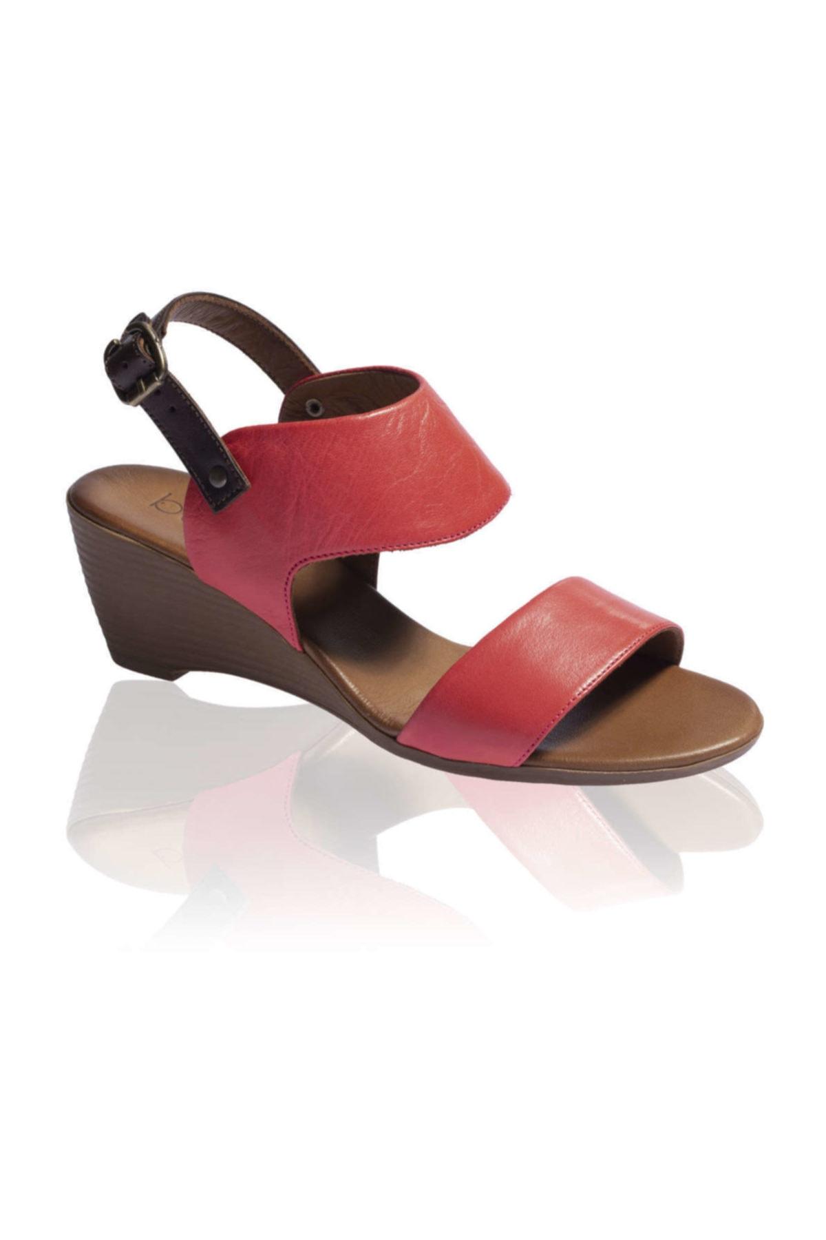 BUENO Shoes Kırmızı Bayan Sandalet 9n3700 2