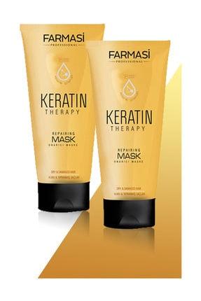 Farmasi Professional Keratin Therapy Onarıcı Saç Maskesi-200 ml 2 Adet