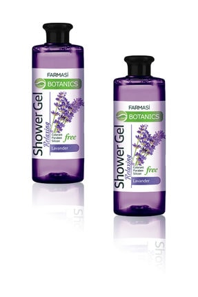 Farmasi Botanics Lavanta Özlü Rahatlatıcı Duş Jeli-500 ml 2 Adet