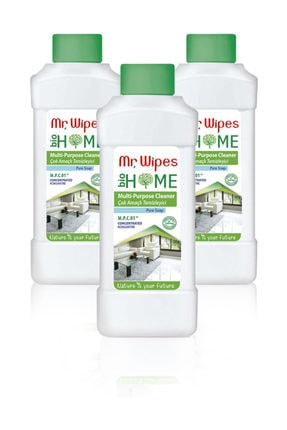 Farmasi Mr. Wipes Konsantre Çok Amaçlı Temizleyici Pure Soap-500 ml x 3'lü Set