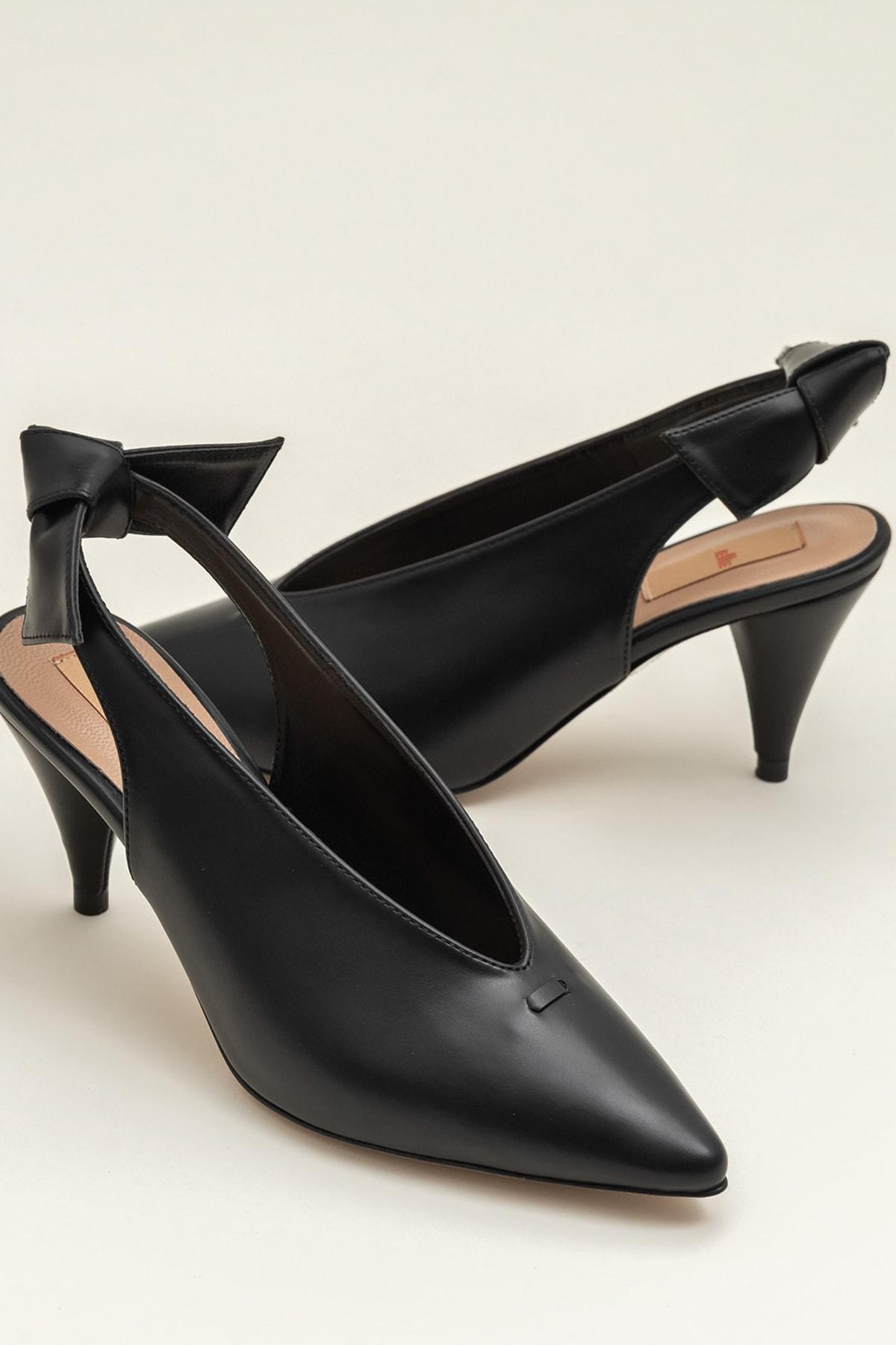 Elle Shoes NELIDA-1 Siyah Kadın Ayakkabı 1