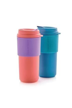 Tupperware Çay Kahve Taşıma Bardağı 2'li 490 ml