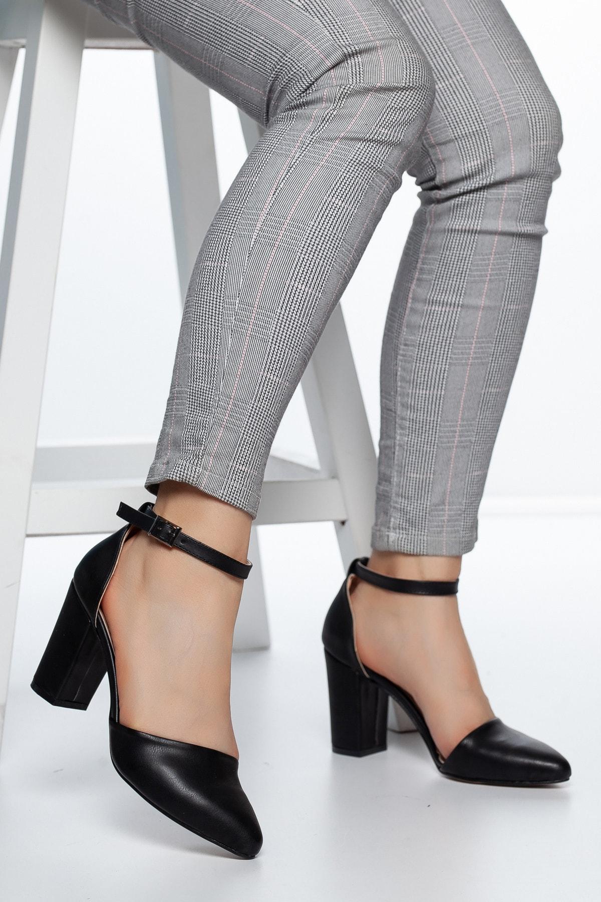 Daxtors Siyah Kadın Ayakkabı DXTRSKRNYRKY002 1