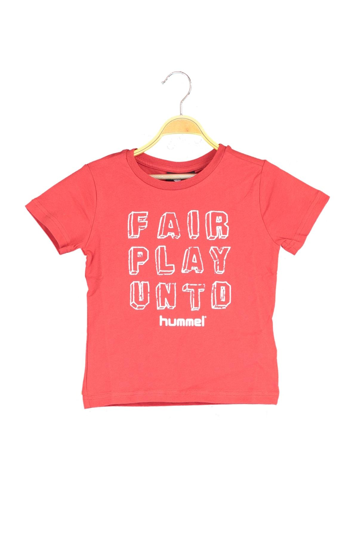 HUMMEL Kırmızı Erkek Çocuk T-Shirt 1