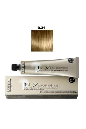 L'oreal Professionnel Loreal Inoa Supreme No:9.31 Saç Boyası 60 g 3474630488960