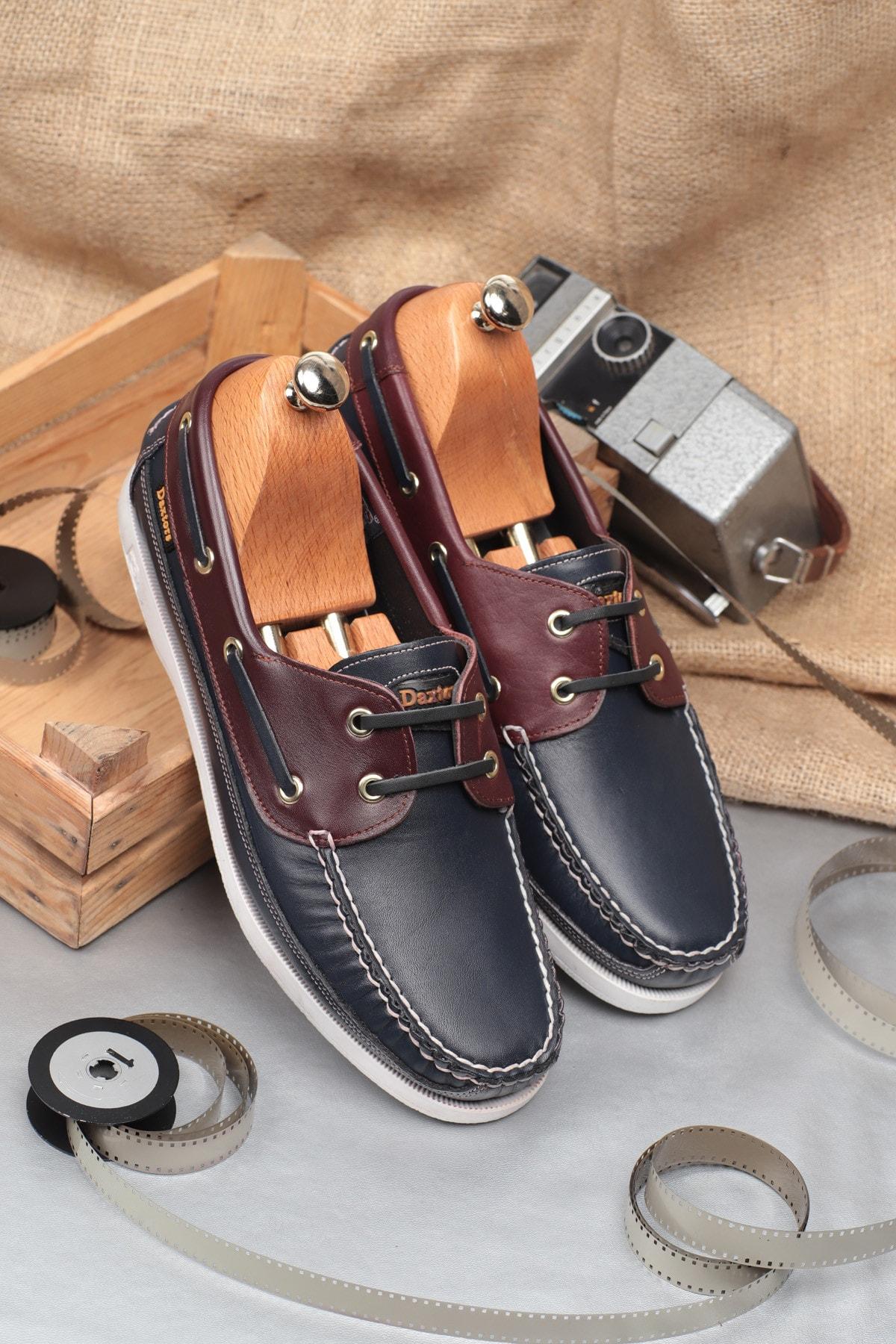 Daxtors D815 Günlük Klasik Hakiki Deri Erkek Ayakkabı 1