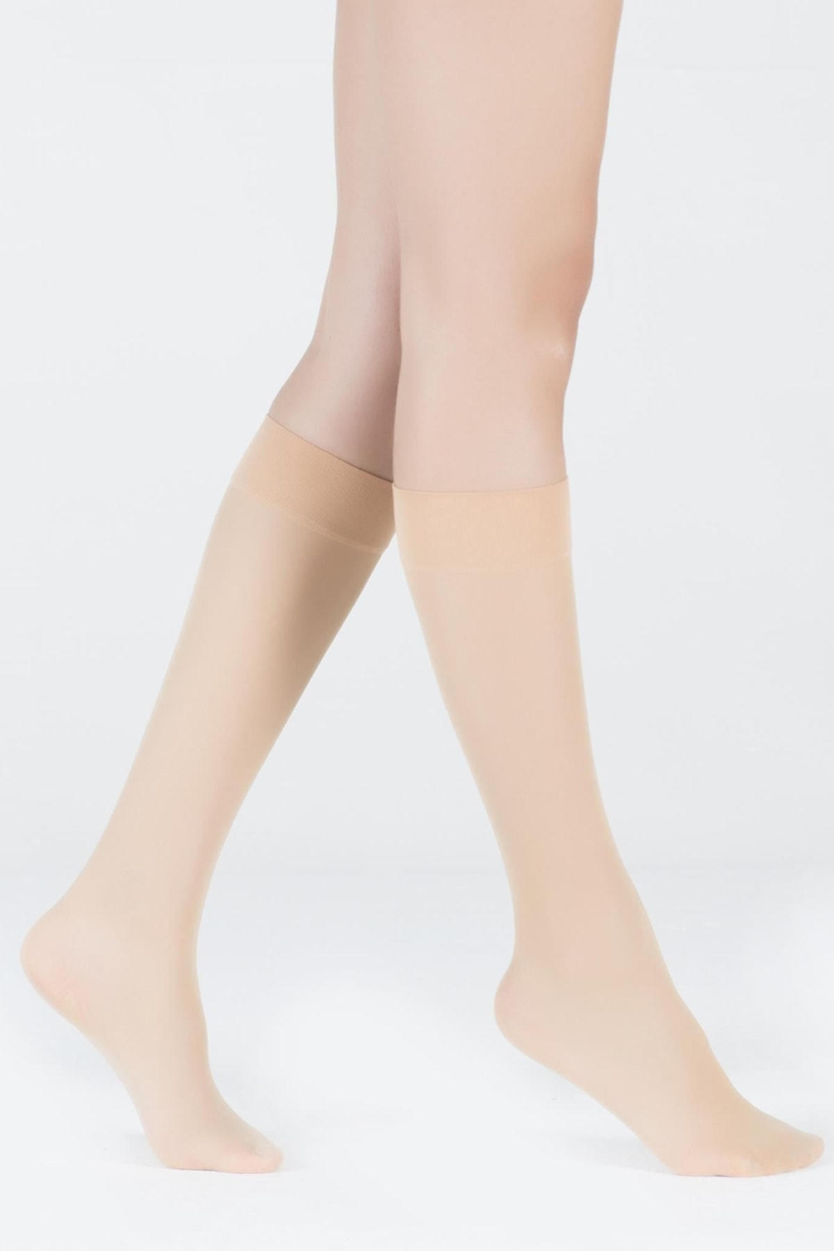 Katia&Bony Kadın Sahra Dizaltı Opak 30 Denye Basic Çorap