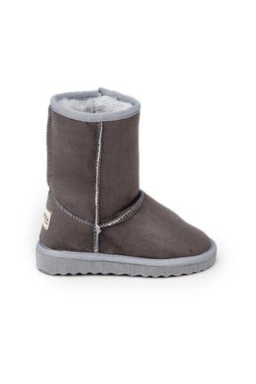 Antarctica Boots Klasik Içi Kürklü  Eva Taban Süet Gri Çocuk Bot