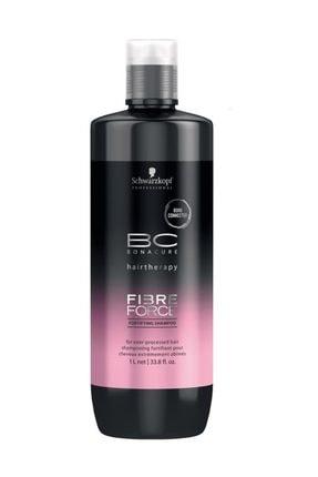 Bonacure Yoğun İşlem Görmüş Saçlar için Şampuan - Fibreforce Shampoo 1000 ml