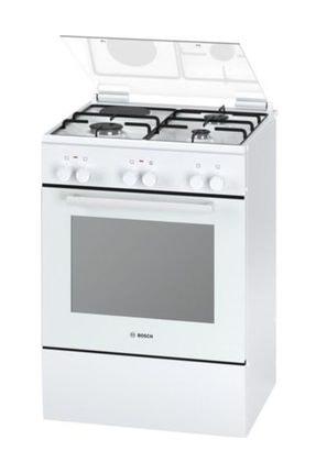 Bosch HGD64D220T Beyaz Solo Gaz Kombinasyonlu Fırın