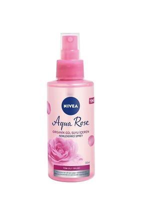 Nivea Aqua Rose Gül Suyu Içeren Nemlendirici Sprey 150 Ml