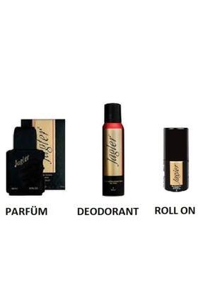 Jagler Orıjınal Classıc Erkek Edt Parfüm 90 Ml + Deo 150ml+rollon 3'lü Set Yeni Ürün