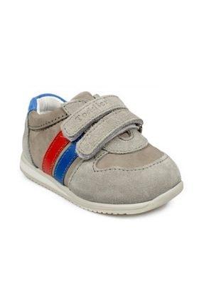 Toddler 1822 Ia Çift Cırtlı Gri Çocuk Spor Ayakkabı