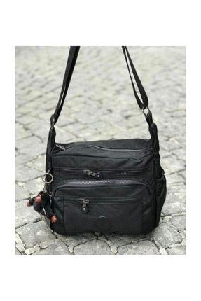 Otto Siyah Kadın Postacı Çanta