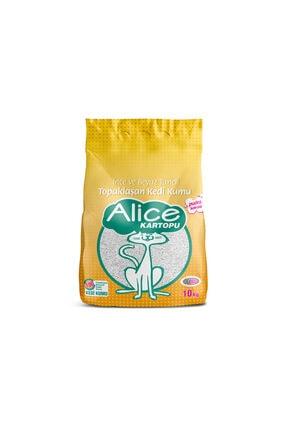 Alice Ince Beyaz Taneli Kedi Kumu 10 Kg (11,5 Lt)