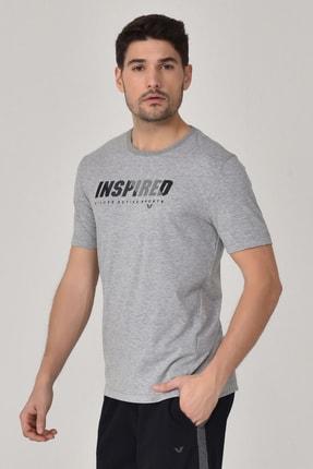 bilcee Gri Erkek T-shirt  GS-8809