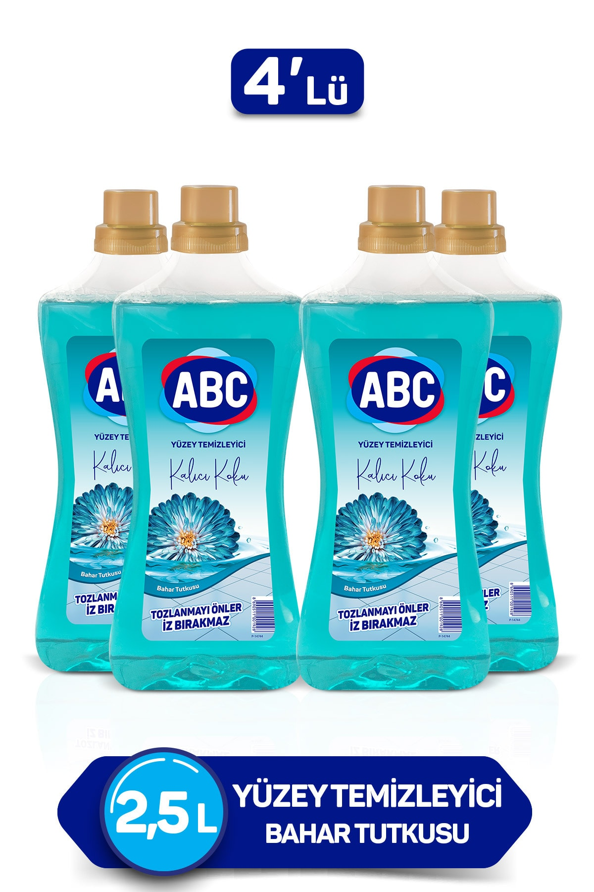 ABC Yüzey Temizleyici -  Bahar Tutkusu 2,5 lt x 4 Adet 2