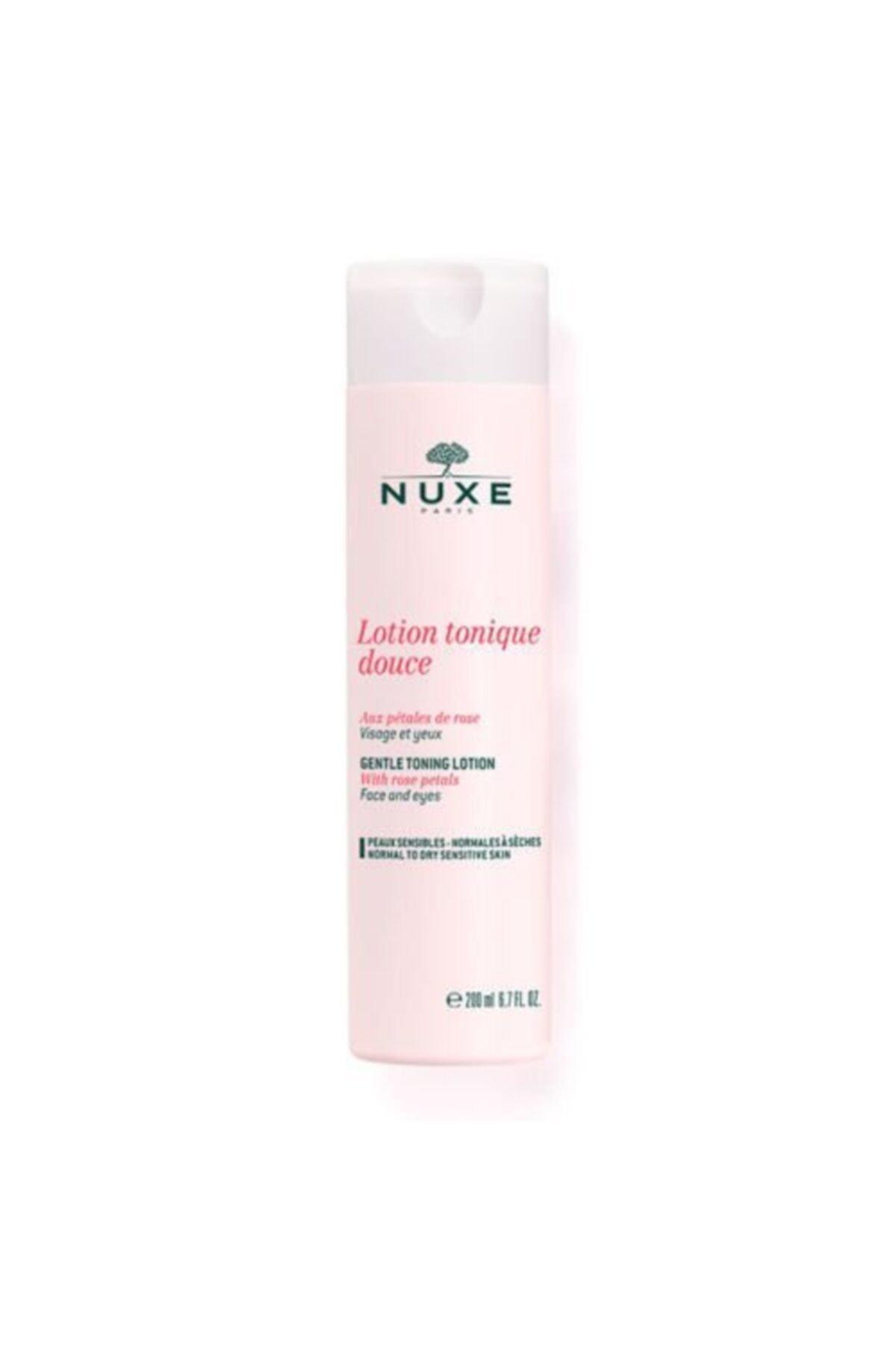 Nuxe Lotion Tonique Aux Petales De Rose - Gül Yaprağı Hassas Tonik Losyon 200 ml 1