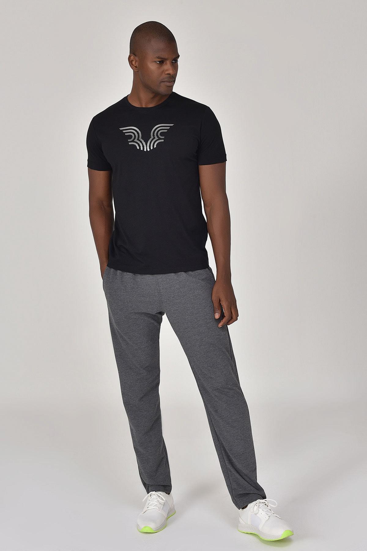 bilcee Siyah Erkek T-shirt  GS-8814 2