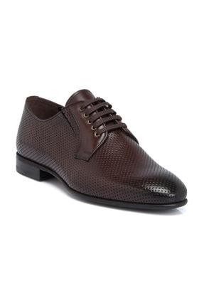 Tergan Hakiki Deri Erkek Deri Kahve Ayakkabı-54288B90
