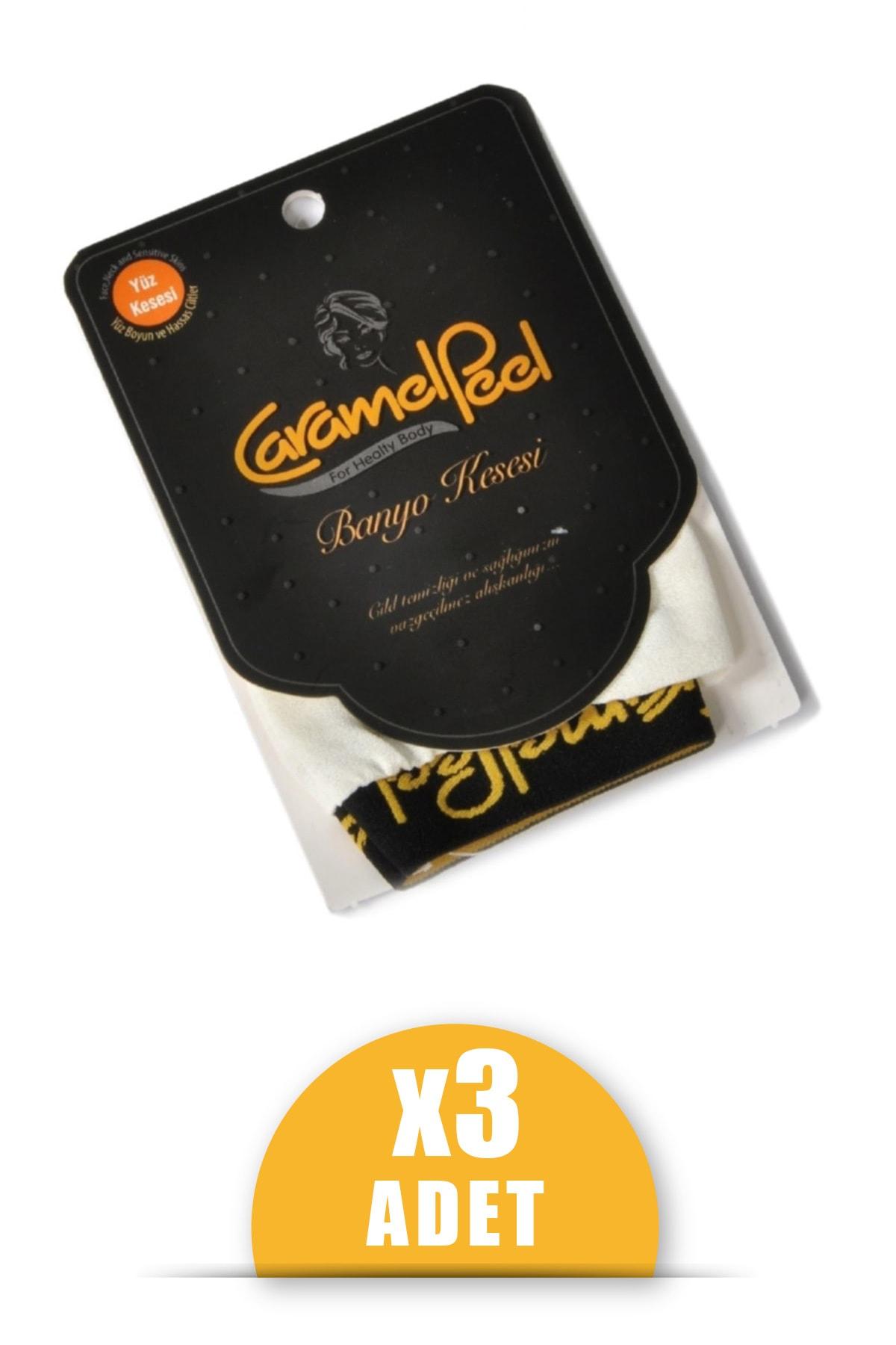 CaramelPeel Yüz Kesesi 3'lü
