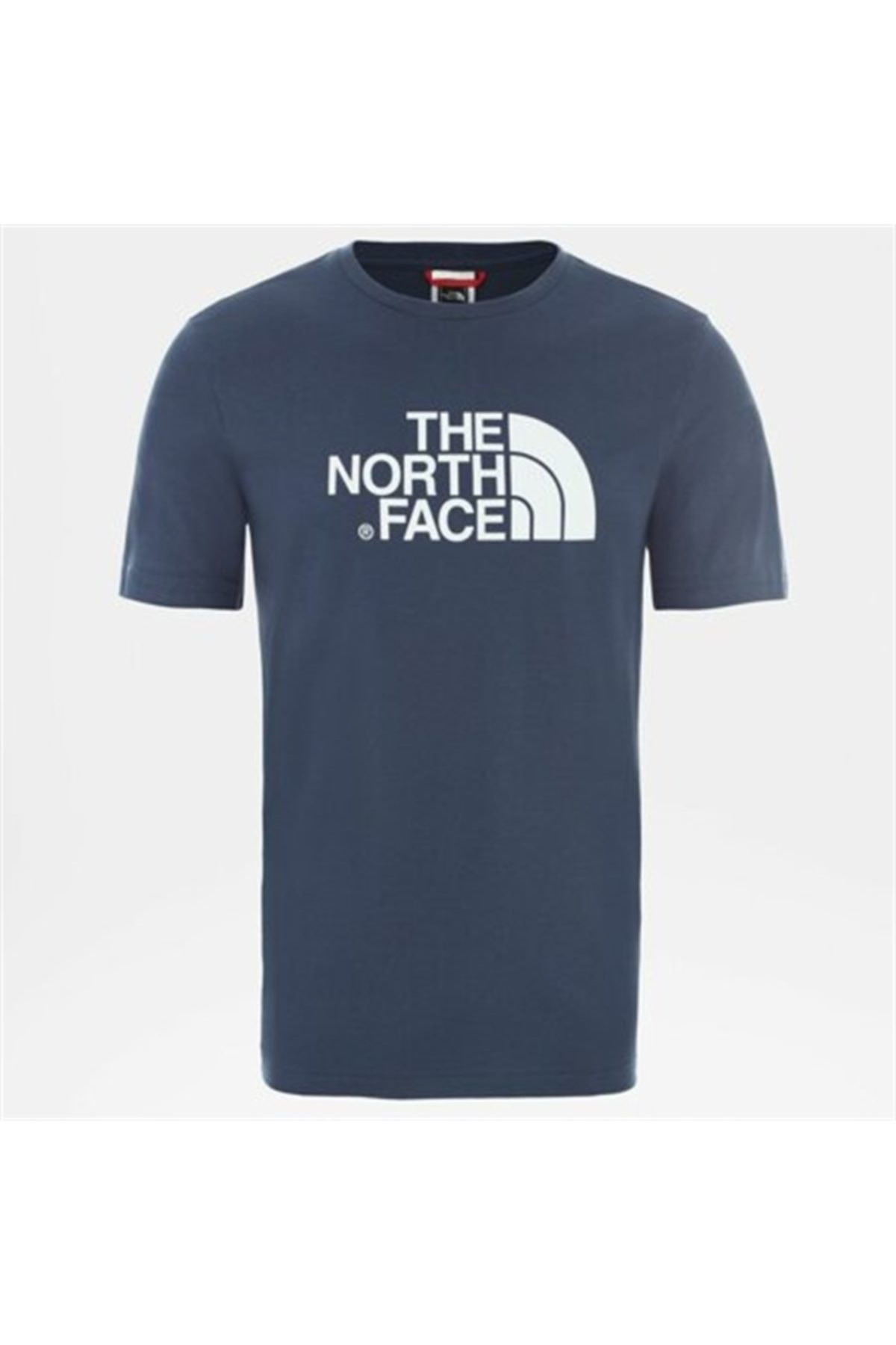 THE NORTH FACE M S/S EASY EU Mavi Erkek T-Shirt 100576713 1