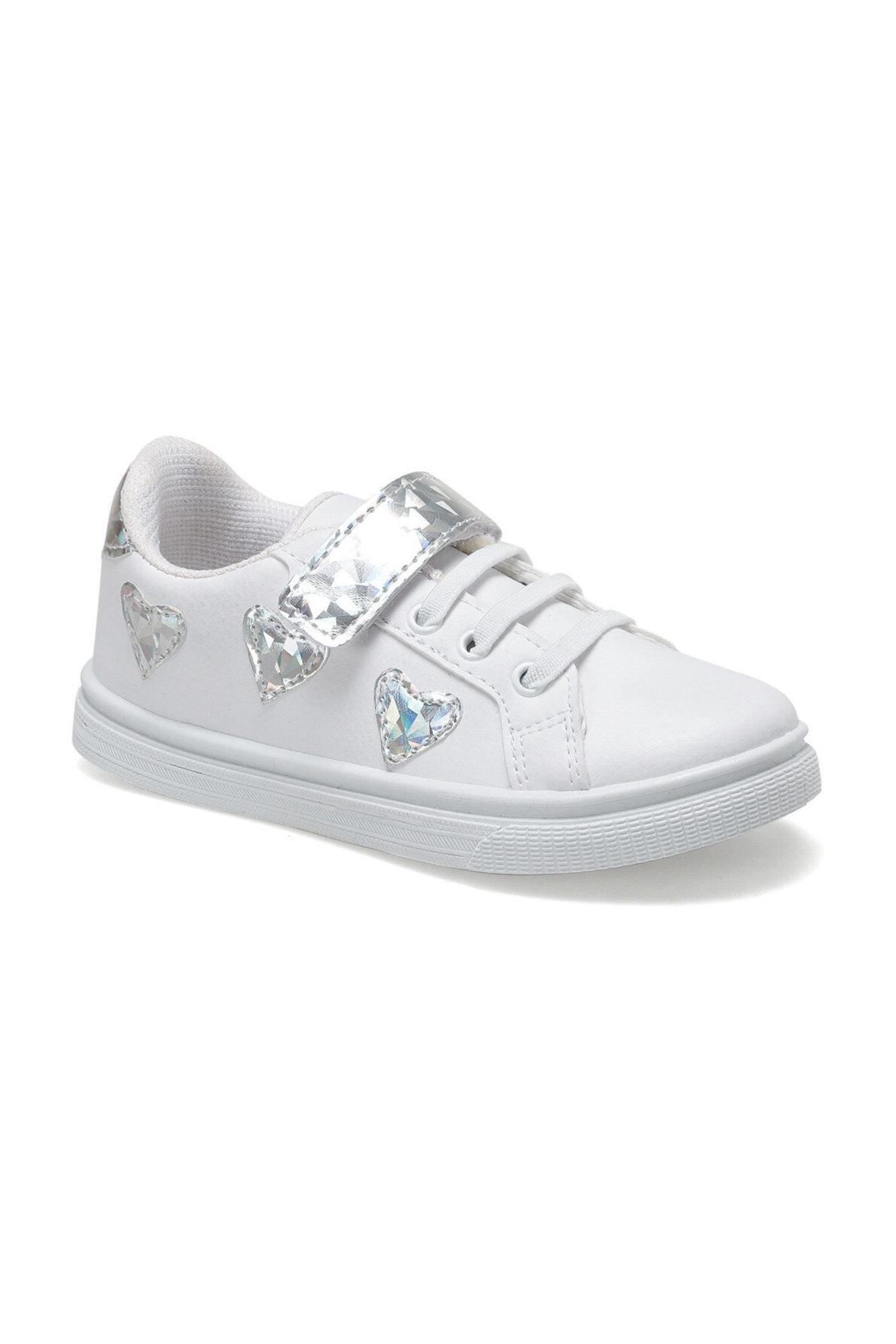 SEVENTEEN TRENDI Beyaz Kız Çocuk Sneaker Ayakkabı 100515651 1