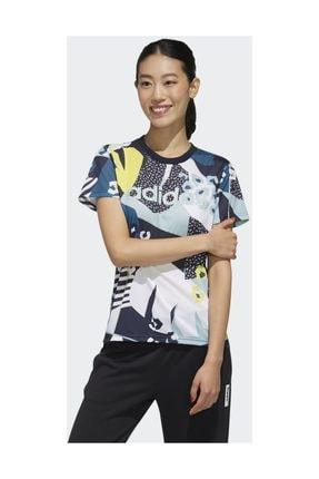 adidas W FARM T Kadın Tişört