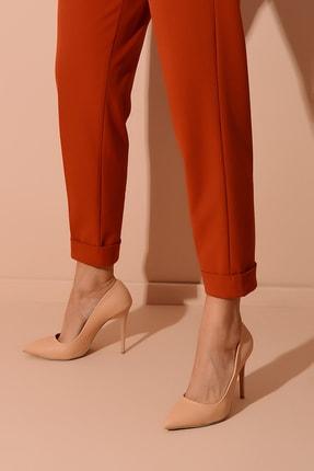Shoes Time Nude Kadın Topuklu Ayakkabı 18Y 708