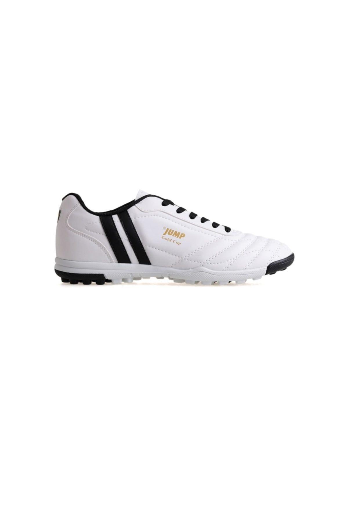 Jump Erkek Futbol Ayakkabısı 13258 Beyaz 1