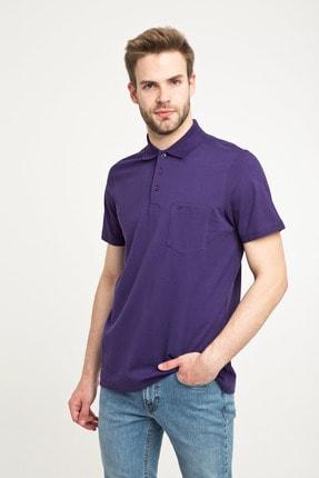 Kiğılı Erkek Polo Yaka Düz Regular Fit Tişört