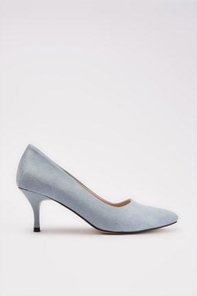 Yaya by Hotiç Acik Mavi Kadın Klasik Topuklu Ayakkabı 01AYY212120A600