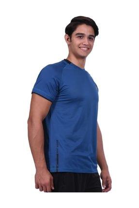 Lotto Erkek T-shirt Petrol Mavi R8280
