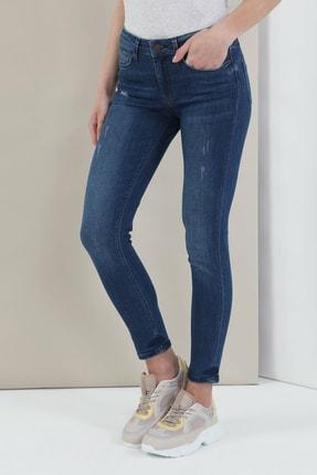 Colin's 759 Lara Super Slim Fit Orta Bel Skinny Leg Kadın Indigo Jean Pantolon