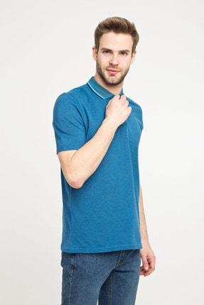 Kiğılı Erkek Polo Yaka Desenli Slim Fit Tişört