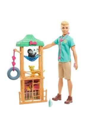 Barbie Ken ve Meslekleri Oyun Setleri Gjm33