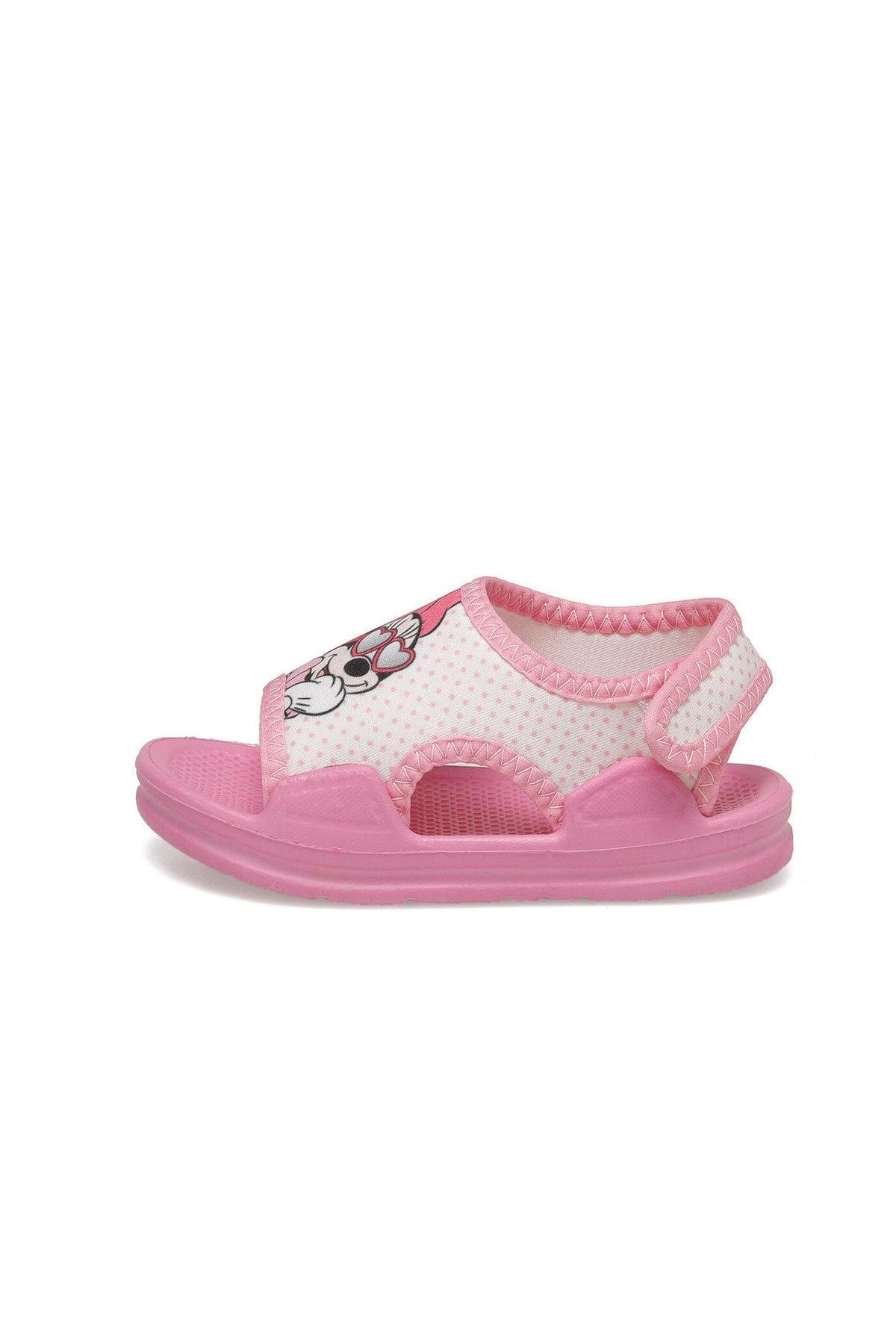Mickey Mouse 91.tely-2.b Pembe Kız Çocuk Sandalet 2